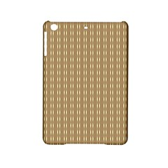 Pattern Background Brown Lines iPad Mini 2 Hardshell Cases by Simbadda