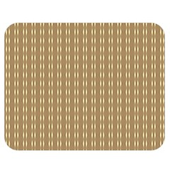 Pattern Background Brown Lines Double Sided Flano Blanket (medium)  by Simbadda