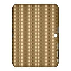 Pattern Background Brown Lines Samsung Galaxy Tab 4 (10 1 ) Hardshell Case  by Simbadda