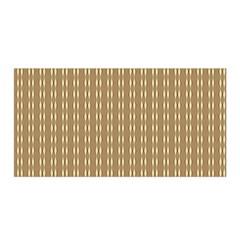 Pattern Background Brown Lines Satin Wrap by Simbadda