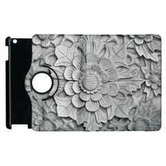 Pattern Motif Decor Apple Ipad 2 Flip 360 Case by Simbadda