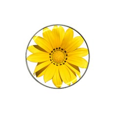 Transparent Flower Summer Yellow Hat Clip Ball Marker (4 Pack) by Simbadda