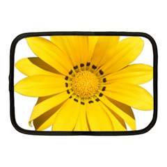 Transparent Flower Summer Yellow Netbook Case (medium)  by Simbadda