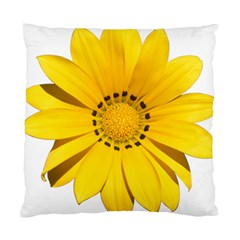 Transparent Flower Summer Yellow Standard Cushion Case (two Sides) by Simbadda
