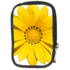 Transparent Flower Summer Yellow Compact Camera Cases by Simbadda