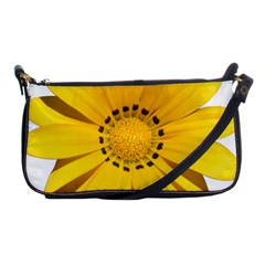 Transparent Flower Summer Yellow Shoulder Clutch Bags by Simbadda
