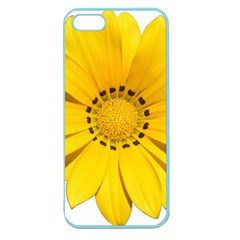 Transparent Flower Summer Yellow Apple Seamless Iphone 5 Case (color) by Simbadda