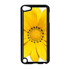 Transparent Flower Summer Yellow Apple iPod Touch 5 Case (Black) by Simbadda