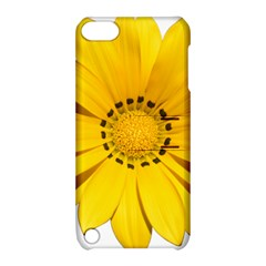 Transparent Flower Summer Yellow Apple Ipod Touch 5 Hardshell Case With Stand by Simbadda