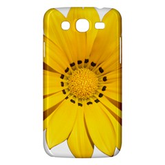 Transparent Flower Summer Yellow Samsung Galaxy Mega 5 8 I9152 Hardshell Case  by Simbadda