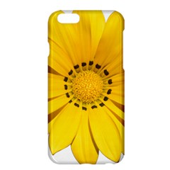 Transparent Flower Summer Yellow Apple Iphone 6 Plus/6s Plus Hardshell Case by Simbadda