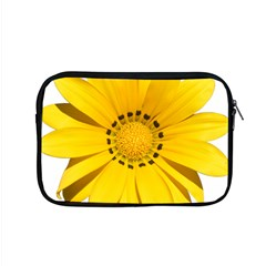 Transparent Flower Summer Yellow Apple Macbook Pro 15  Zipper Case by Simbadda