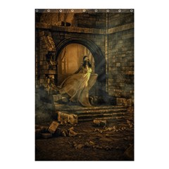 Woman Lost Model Alone Shower Curtain 48  X 72  (small)  by Simbadda