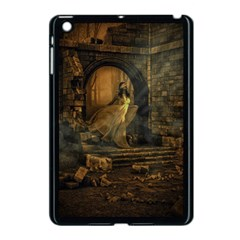 Woman Lost Model Alone Apple Ipad Mini Case (black) by Simbadda