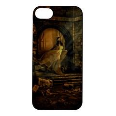 Woman Lost Model Alone Apple Iphone 5s/ Se Hardshell Case by Simbadda