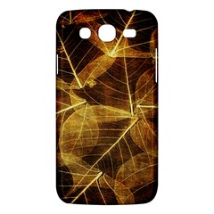 Leaves Autumn Texture Brown Samsung Galaxy Mega 5 8 I9152 Hardshell Case