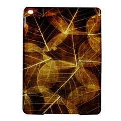 Leaves Autumn Texture Brown Ipad Air 2 Hardshell Cases by Simbadda