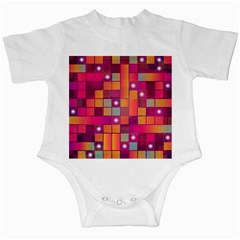 Abstract Background Colorful Infant Creepers by Onesevenart