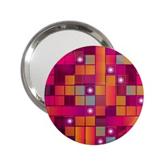 Abstract Background Colorful 2 25  Handbag Mirrors by Onesevenart