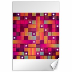 Abstract Background Colorful Canvas 24  X 36  by Onesevenart