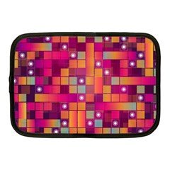 Abstract Background Colorful Netbook Case (medium)  by Onesevenart