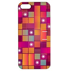 Abstract Background Colorful Apple Iphone 5 Hardshell Case With Stand by Onesevenart