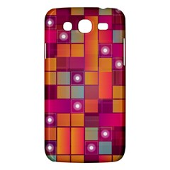 Abstract Background Colorful Samsung Galaxy Mega 5 8 I9152 Hardshell Case  by Onesevenart