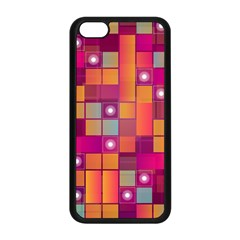 Abstract Background Colorful Apple Iphone 5c Seamless Case (black) by Onesevenart