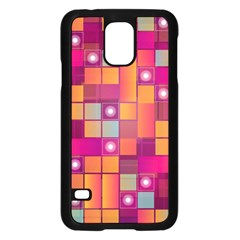 Abstract Background Colorful Samsung Galaxy S5 Case (black) by Onesevenart