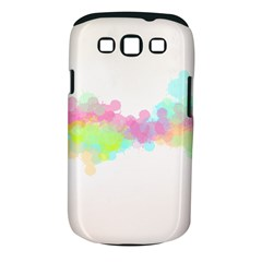 Abstract Color Pattern Colorful Samsung Galaxy S Iii Classic Hardshell Case (pc+silicone) by Onesevenart