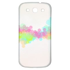 Abstract Color Pattern Colorful Samsung Galaxy S3 S Iii Classic Hardshell Back Case by Onesevenart