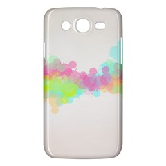 Abstract Color Pattern Colorful Samsung Galaxy Mega 5 8 I9152 Hardshell Case  by Onesevenart