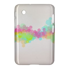 Abstract Color Pattern Colorful Samsung Galaxy Tab 2 (7 ) P3100 Hardshell Case  by Onesevenart