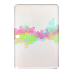 Abstract Color Pattern Colorful Samsung Galaxy Tab Pro 12 2 Hardshell Case by Onesevenart