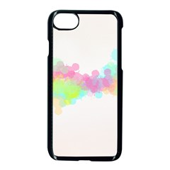 Abstract Color Pattern Colorful Apple Iphone 7 Seamless Case (black) by Onesevenart