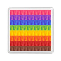 Abstract Pattern Background Memory Card Reader (square)  by Onesevenart