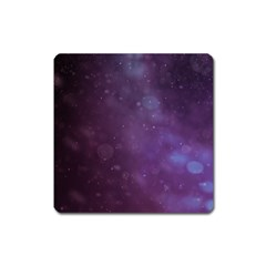 Abstract Purple Pattern Background Square Magnet by Onesevenart