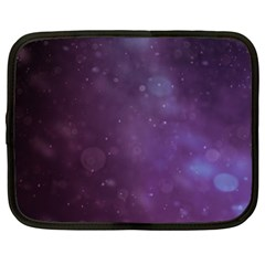 Abstract Purple Pattern Background Netbook Case (xl)  by Onesevenart