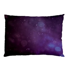 Abstract Purple Pattern Background Pillow Case (two Sides) by Onesevenart