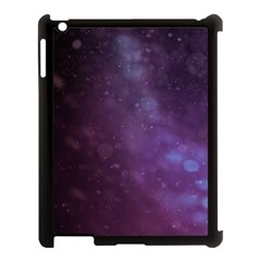 Abstract Purple Pattern Background Apple Ipad 3/4 Case (black) by Onesevenart
