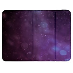 Abstract Purple Pattern Background Samsung Galaxy Tab 7  P1000 Flip Case by Onesevenart