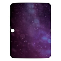 Abstract Purple Pattern Background Samsung Galaxy Tab 3 (10 1 ) P5200 Hardshell Case  by Onesevenart