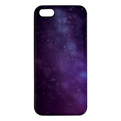 Abstract Purple Pattern Background Iphone 5s/ Se Premium Hardshell Case by Onesevenart