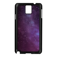 Abstract Purple Pattern Background Samsung Galaxy Note 3 N9005 Case (black) by Onesevenart
