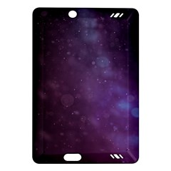 Abstract Purple Pattern Background Amazon Kindle Fire Hd (2013) Hardshell Case by Onesevenart