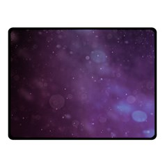 Abstract Purple Pattern Background Double Sided Fleece Blanket (small)  by Onesevenart