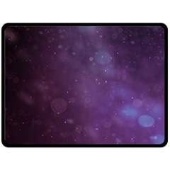 Abstract Purple Pattern Background Double Sided Fleece Blanket (large)  by Onesevenart