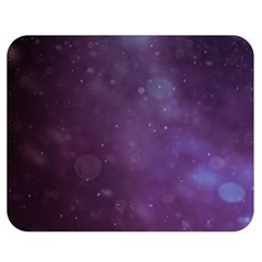 Abstract Purple Pattern Background Double Sided Flano Blanket (medium)  by Onesevenart