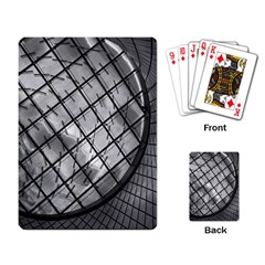 Architecture Roof Structure Modern Playing Card by Onesevenart