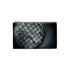 Architecture Roof Structure Modern Cosmetic Bag (small)  by Onesevenart